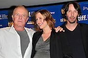 14.SEPT.2010. TORONTO<br /> <br /> JAMES CAAN, VERA FARMIGA AND KEANU REEVES ATTEND THE PRESS CONFRENCE FOR NEW FILM HENRY'S CRIME AT THE 35TH TORONTO FILM FESTIVAL IN TORONTO.<br /> <br /> BYLINE: EDBIMAGEARCHIVE.COM<br /> <br /> *THIS IMAGE IS STRICTLY FOR UK NEWSPAPERS AND MAGAZINES ONLY*<br /> *FOR WORLD WIDE SALES AND WEB USE PLEASE CONTACT EDBIMAGEARCHIVE - 0208 954 5968*