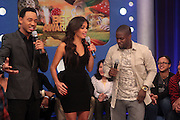 17 May 2011- New York, NY - l to r: Terrence J, Rosci, and Kevin Hart at the 106 & Park's BET Awards Announcement held at BET Studios on May 17, 2011 in New York City. Photo Credit: Terrence Jennings