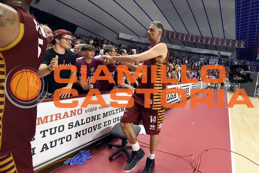Tomas Ress<br /> Umana Reyer Venezia - Dolomiti Energia Aquila Basket Trento<br /> Lega Basket Serie A 2016/2017<br /> Playoff, finale gara 2<br /> Venezia, 12/06/2017<br /> Foto M.Ceretti / Ciamillo-Castoria