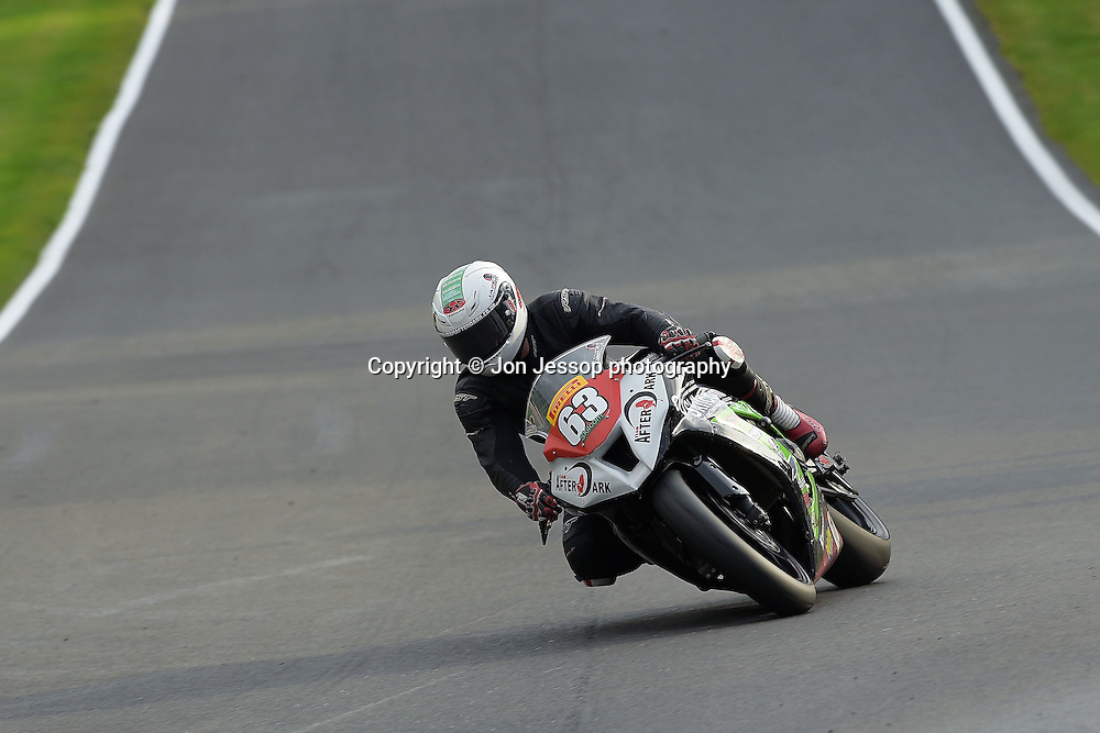 #63 James White Team Afterdark Kawasaki Pirelli National Superstock 1000