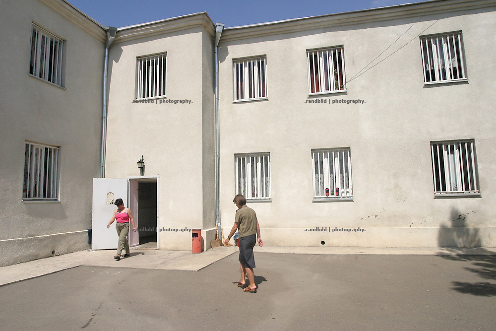 Woman prison in Tbilissi, Georgia.