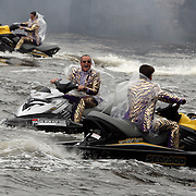 NLD/Amsterdam/20080930 - Persconferentie Toppers, Rene Froger, Gordon Heuckeroth en Gerard Joling