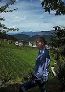 Italy, Sudtirolo. Tramin, Trameno.Cantina Tramin, Willi Stürz