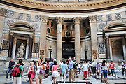 Italy, Rome, Interior of The Pantheon