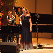 Leif Ove Andsnes and Christianne Stotijn perform Dmitri Shostakovich's Six Poems of Marina Tsvetaeva, Op. 143a at the 66th Ojai Music Festival on June 7, 2012 in Ojai, California.