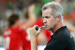 Vital Heynen, head coach of Belgium during volleyball match between National teams of Slovenia and Belgium in 2nd Round of 2018 FIVB Volleyball Men's World Championship qualification, on May 28, 2017 in Arena Stozice, Ljubljana, Slovenia. Photo by Morgan Kristan / Sportida
