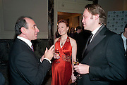 Armando Iannucci; Emily Mckay; Christian Mckay, The 30th London Critics' Circle Film Awards, held in aid of the NPSCC at the Landmark London Hotel. 18 February 2010.<br /> Armando Iannucci; Emily Mckay; Christian Mckay, The 30th London CriticsÕ Circle Film Awards, held in aid of the NPSCC at the Landmark London Hotel. 18 February 2010.