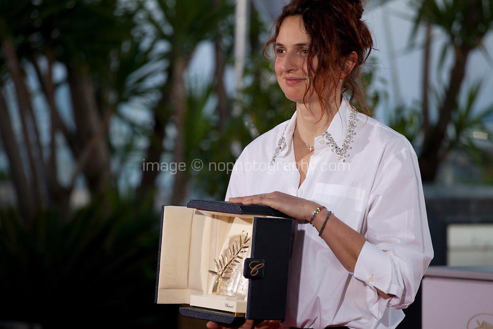 Director Alice Rohrwacher joint winner of the Best Screenplay prize for the film Lazzaro Felice (Happy as Lazzaro) at the Award Winner's photo call at the 71st Cannes Film Festival, Saturday 19th May 2018, Cannes, France. Photo credit: Doreen Kennedy