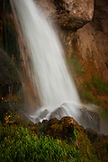 Waterfall at Rifle Falls State Park, Colorado