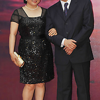 HONG KONG - APRIL 19:  Hong Kong director John Woo (R) and his wife Ann Woo arrive to the 28th Hong Kong Film Awards 2009 at the Hong Kong's Cultural Centre on April 19, 2009.  Photo by Victor Fraile / studioEAST