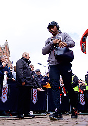 LONDON, ENGLAND - Sunday, March 17, 2019: Liverpool's Daniel Sturridge arrives before the FA Premier League match between Fulham FC and Liverpool FC at Craven Cottage. (Pic by David Rawcliffe/Propaganda)