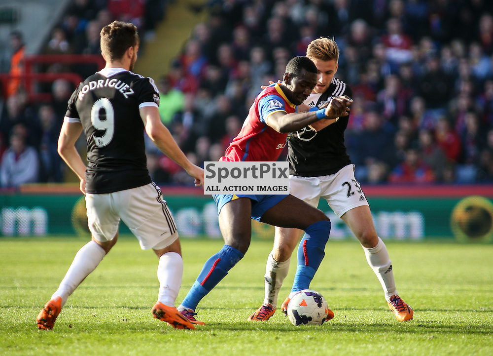 Yannick Bolasie (Crystal Palace) - Crystal Palace v Southampton,  Barclays Premier League played at Selhurst Park Stadium, London - 8 March 2014 (c) LIAM MCAVOY | SportPix