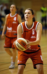 Spela Erzen at finals of Slovenian women basketball 1st league between Hit Kranjska Gora and ZKK Merkur Celje, on May 15, 2007, in Kranjska Gora, Slovenia. (Photo by Vid Ponikvar / Sportida)