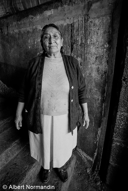 Woman, Central Market, Cusco, Peru, 2003
