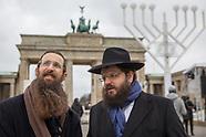 Hanukkah menorah, Berlin 12.12.2017