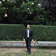 Matteo Orfini al Circolo degli artisti di Roma per partecipare al Left Wing. Roma, 11 giugno 2014. Christian Mantuano / OneShot
