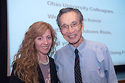 "18408Yuan-Cheng ""Bert"" Fung, recipient of the 2007 Fritz J. and Dolores H. Russ Prize: Lecture in Baker Theater...With Colleen Girton...Russ Prize winner to speak on biomechanics..Yuan-Cheng ""Bert"" Fung, recipient of the 2007 Fritz J. and Dolores H. Russ Prize, will give a public lecture titled, ?Biomechanics: The Road to Understanding Living Systems,? from 2:10 to 3 p.m. Thursday, Sept. 27, in Ohio University's Baker University Center Theatre.  ..Widely considered the father of modern biomechanics, Fung's diverse research endeavors have formed the basis for the entire field of automotive safety design. They also contributed to the development of artificial skin, improved the effectiveness and longevity of prosthetic devices and enabled the military to develop safer non-lethal weapons and personal body armor. Fung is currently a professor emeritus of bioengineering at the University of California, San Diego, where he founded the bioengineering program...In addition to his public lecture, Fung will also tour Ohio University biomedical engineering labs and meet with Ohio University faculty, leaders, and the Russ College Engineering Ambassadors. ..The late Ohio University graduate Fritz Russ and his wife, Dolores, created the Russ Prize in 1999. The $500,000 award, one of the top three engineering prizes in the world, recognizes engineering achievement that significantly improves the human condition. All Russ Prize winners are invited to give a lecture at Ohio University...Fung's lecture is free and open to the public. A reception will follow outside the theater."