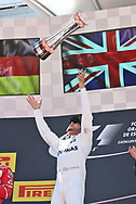 Lewis Hamilton of Mercedes AMG Petronas takes first place in the Spanish Formula One Grand Prix at Circuit de Catalunya, Barcelona<br /> Picture by EXPA Pictures/Focus Images Ltd 07814482222<br /> 14/05/2017<br /> *** UK &amp; IRELAND ONLY ***<br /> <br /> EXPA-EIB-170514-0115.jpg