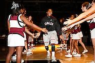 November 17, 2011: The Langston University Lions play against the Oklahoma Christian University Eagles at the Eagles Nest on the campus of Oklahoma Christian University.
