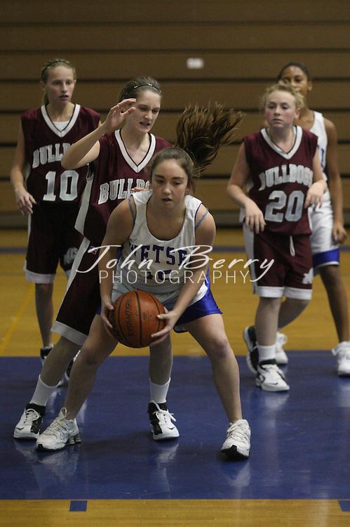 Wetsel Girl's Basketball.vs Luray.12/4/2007..