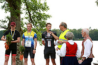 2019-07-20 | Hensmåla, Sweden:Tingsrydskommun : Winners of mensclass at Hensmåla Triathlon Tingsrydskommun ( Photo by: Eva-Lena Ramberg )<br /> <br /> Keywords: Tingsrydskommun, Hensmåla, Triathlon, Hensmåla Triathlon, Triathlon, Hensmåla