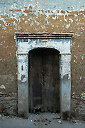 Old doorway in Sucre, Bolivia