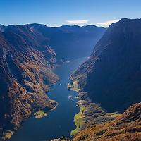 Nærøyfjorden from Breiskrednosi