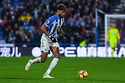 Philip Billing of Huddersfield Town (8) in action during the Premier League match between Huddersfield Town and Southampton at the John Smiths Stadium, Huddersfield, England on 22 December 2018.