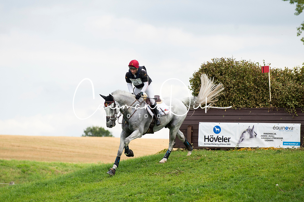 Vanhouche Giel, BEL, Figaro de Verby<br /> Cross Country - FEI European Eventing Championships - Strzegom 2017 <br /> © Hippo Foto - Jon Stroud<br /> 19/08/2017,