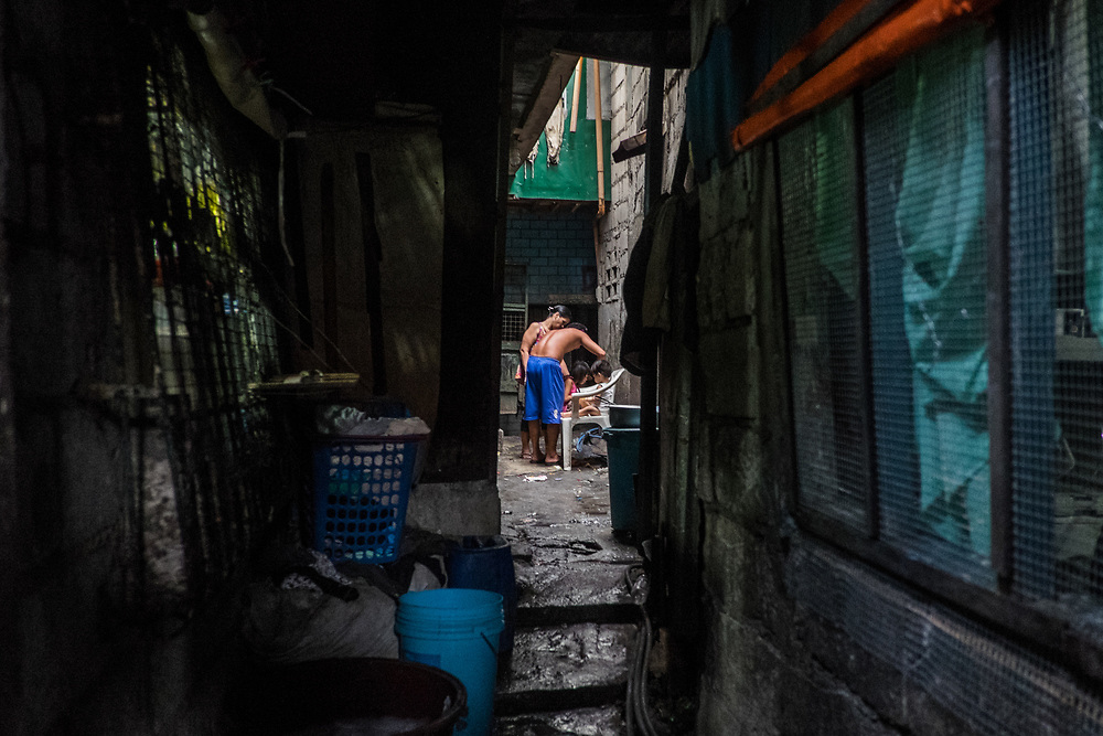 The Tondo district is the poorest area in Manila where many families have lost one or more relatives since President Duterte's drug war began.