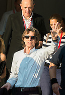 Mick Jagger after the 'Get On Up' photocall l during the 40th Deauville American Film Festival on September 12, 2014 in Deauville, France.