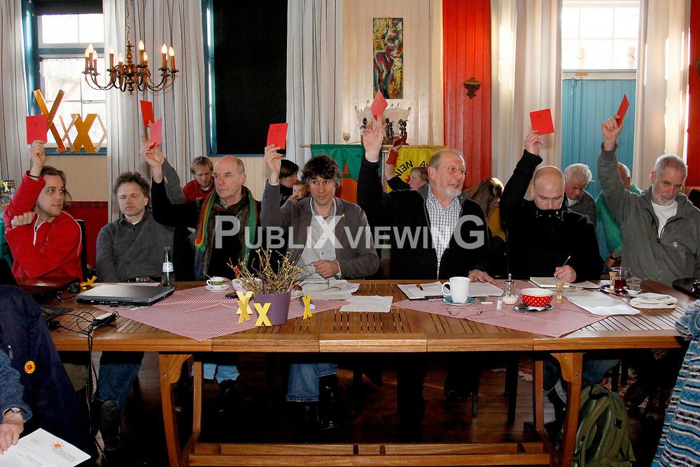 Mitgliederversammlung der B&uuml;rgerinitiative Umweltschutz L&uuml;chow-Dannenberg im Restaurant Bauernstuben in Trebel. <br /> <br /> Ort: Trebel<br /> Copyright: Andreas Conradt<br /> Quelle: PubiXvewinG