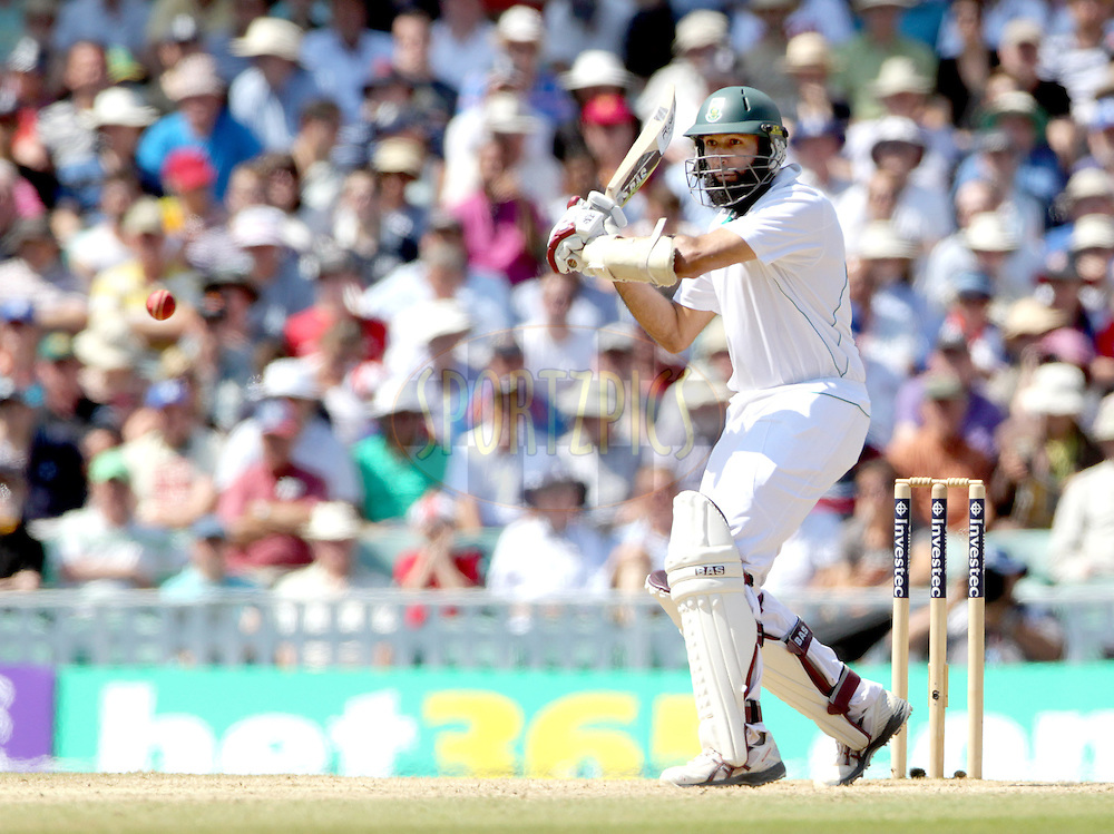 © Andrew Fosker / Seconds Left Images 2012 - South Africa's Hashim Amla prepares to pull a short ball  England v South Africa - 1st Investec Test Match -  Day  4 - The Oval  - London - 22/07/2012