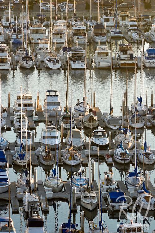 Dana Point Harbor Sailboats, Orange County California