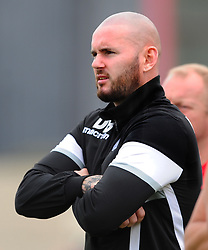 DAVID BELL MANAGER CORBY TOWN, Corby Town v Romulus Steel Park, Corby Evo-Stik Northern Premier Division One South Saturday 12th August 2017