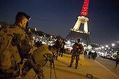 Brussels Terror Attacks, Eiffel Tower solidarity