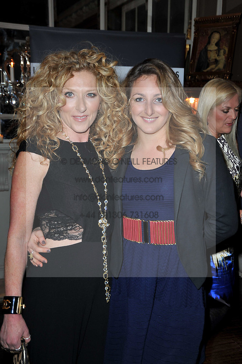 Left to right, KELLY HOPPEN and her daughter NATASHA CORRETT at a party to celebrate the publication of her new book - Kelly Hoppen: Ideas, held at Beach Blanket Babylon, 45 Ledbury Road, London W11 on 4th April 2011.