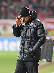 22.01.2011, Bruchwegstadion, Mainz, GER, 1. FBL, FSV Mainz 05 vs VfL Wolfsburg, im Bild Thomas TUCHEL (Trainer Mainz GER), EXPA Pictures © 2011, PhotoCredit: EXPA/ nph/  Roth       ****** out of GER / SWE / CRO ******