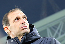 December 20, 2017 - Turin, Piedmont, Italy - Massimiliano Allegri, head coach of Juventus FC, before the Italian Cup football match between Juventus FC and Geona CFC at Allianz Stadium on 20 December, 2017 in Turin, Italy. ..Juventus won 2-0 over Genoa. (Credit Image: © Massimiliano Ferraro/NurPhoto via ZUMA Press)