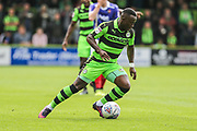 Forest Green Rovers Dale Bennett(2) on the ball during the EFL Sky Bet League 2 match between Forest Green Rovers and Exeter City at the New Lawn, Forest Green, United Kingdom on 9 September 2017. Photo by Shane Healey.