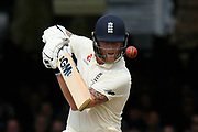 Ben Stokes of England batting during the International Test Match 2019 match between England and Australia at Lord's Cricket Ground, St John's Wood, United Kingdom on 18 August 2019.