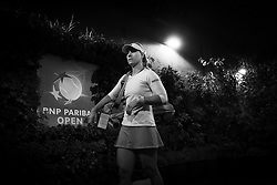 March 15, 2019 - Indian Wells, USA - Angelique Kerber of Germany on her way to the court for her semi-final at the 2019 BNP Paribas Open WTA Premier Mandatory tennis tournament (Credit Image: © AFP7 via ZUMA Wire)