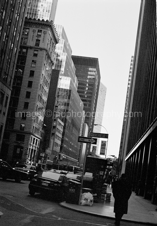 Gouverneur Street Lower Manhattan New York circa 2000