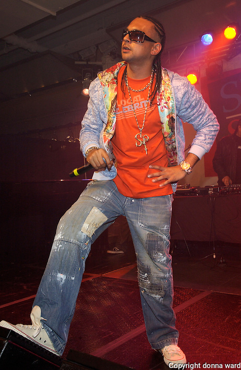 Sean Paul at Style Stage NYC in the Metropolitan Pavilion and the Altman Building Friday, May 5, 2006 in New York.