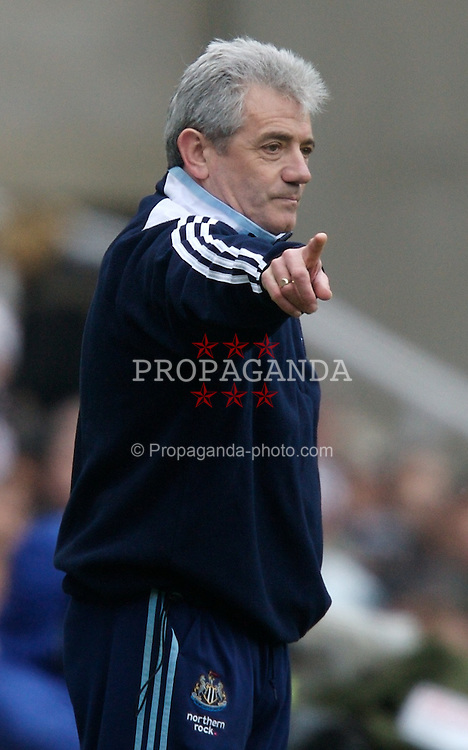 NEWCASTLE, ENGLAND - Sunday, February 3, 2008: Newcastle United's manager Kevin Keegan during the Premiership match against Middlesbrough at St James' Park. (Photo by David Rawcliffe/Propaganda)