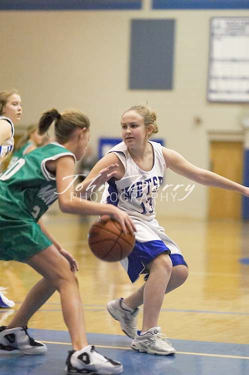 MCHS 8th Grade Girls..vs Greene..Fourth Period..December 13, 2004