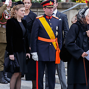 LUX/Luxemburg/20190504 -  Funeral<br /> of HRH Grand Duke Jean, Uitvaart Groothertog Jean, Erfelijke Groothertog Guillaume en Erfelijke Groothertogin Stephanie