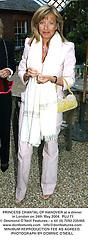 PRINCESS CHANTAL OF HANOVER at a dinner in London on 24th May 2004.PUJ 71