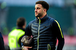 Kyle Walker of Manchester City arrives at Rodney Parade prior to kick off, - Mandatory by-line: Ryan Hiscott/JMP - 16/02/2019 - FOOTBALL - Rodney Parade - Newport, Wales - Newport County v Manchester City - Emirates FA Cup fifth round proper