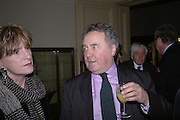 Lucinda Lambton and Peter McKay. Annabel Freyberg and Andrew Barrow drinks party. The Royal Geographical Society. 5 January 2006. ONE TIME USE ONLY - DO NOT ARCHIVE  © Copyright Photograph by Dafydd Jones 66 Stockwell Park Rd. London SW9 0DA Tel 020 7733 0108 www.dafjones.com
